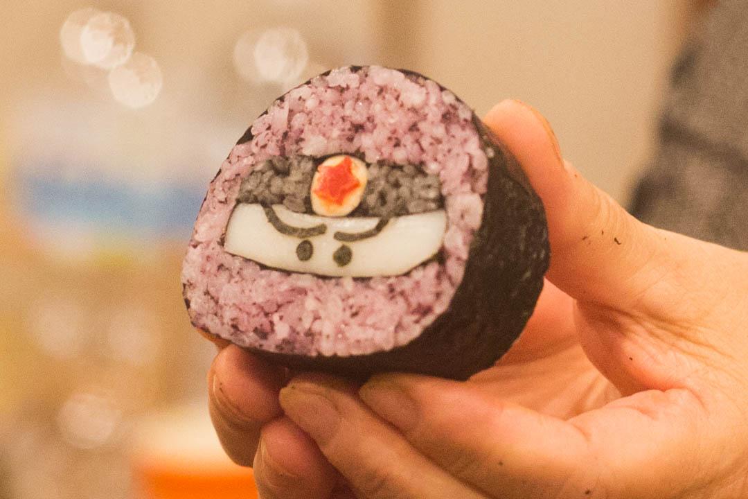 Ninja roll sushi!